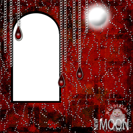 Free Twilight New Moon Digital Scrapbooking Layout
