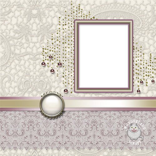 Gold and Wine Wedding Layout